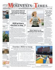 Mountain Times - Volume 49, Number 32 - Aug.5-11, 2020