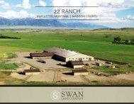 Montana Equestrian Ranch for Sale | 22 Ranch near Ennis, Montana