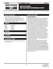 as9100 system anti-slip high performance epoxy - RustoleumIBG.Com