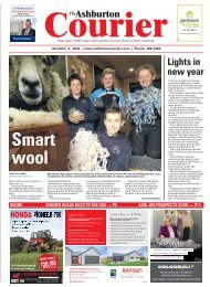 Ashburton Courier: August 06, 2020