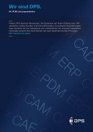 Wir sind DPS. - DPS Software Gmbh