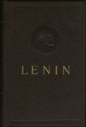 Collected Works of V. I. Lenin - Vol. 3 - From Marx to Mao