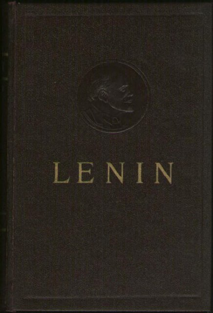 Collected Works of V  I  Lenin - Vol  3 - From Marx to Mao