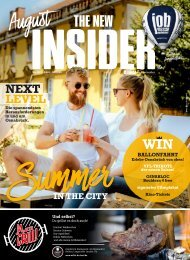 THE NEW INSIDER No. XVI, August 2020, #445