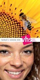 Kursbuch der vhs Witten | Wetter | Herdecke für das 2. Semester 2020