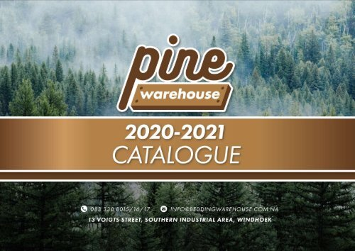 Pine Warehouse 2020-2021 Catalogue