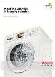 Bosch Washer-Dryer 2009/2 - Bosch Home