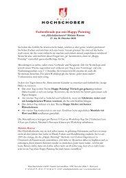 HS Programm Happy Painting Oktober 2020