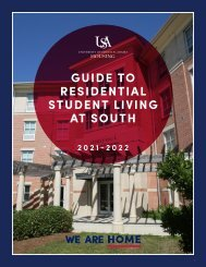 2020-2021 Guide to Residential Student Living at South