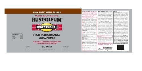 oil-based - Rust-Oleum