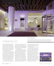 Hospitality Lighting Trends - Architectural SSL