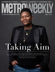 Sam Jay: Taking Aim - Metro Weekly, August 6, 2020