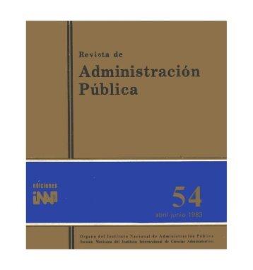 Untitled - Instituto Nacional de Administración Pública, AC