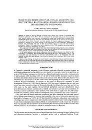 insecticide resistance in blattella germanica (l.) - International ...