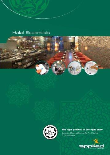 Halal Essentials brochure - Orapi