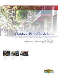 Outdoor Patio Guidelines - City of Kamloops