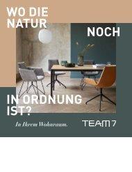 TEAM 7 Wohnjournal