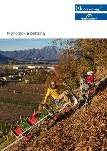 Monorack a benzina
