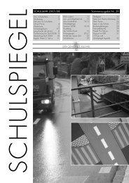 EL SCHUL JAHR 2007/08 Sommerausgabe Nr. 29 ... - Schulen Ruswil