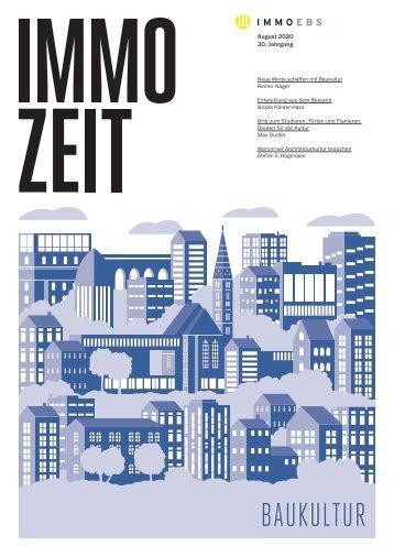 IMMOZEIT 01.20 | Baukultur