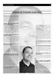interview mit schulleiter olivier prince - Schulen Ruswil