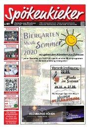Spökenkieker Ausgabe Nr. 401 - 08/2020