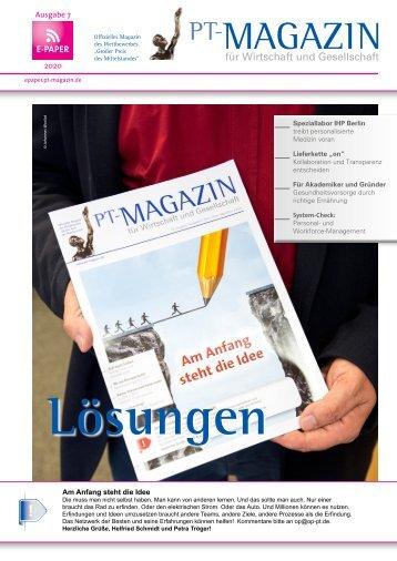 E-Paper PT-Magazin 07 2020 Lösungen