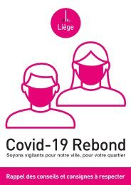 Conseils Covid-19 Rebond