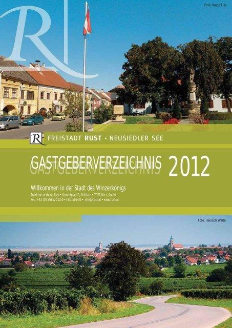 gastgeberverzeichnis 2012 gastgeberverzeichnis - Weinakademie ...