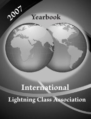 Introduction - the International Lightning Class