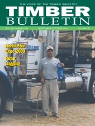 BULLETIN - Minnesota Forest Industries