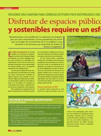 D i s f rutar de espacios públicos limp y sostenibles re q u i e re un ...