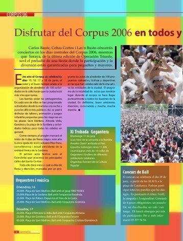 D i s f rutar del Corpus 2006 en todos y cada uno - Ajuntament de ...