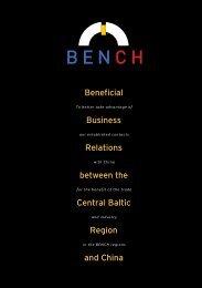 BENCH Information broschure
