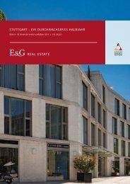 E & G Real Estate - Büro- & Investmentmarktbericht 1. HJ 2020
