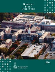 MEDICAL STAFF DIRECTORY - Reading Hospital and Medical Center