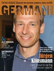 "and ""Sleeeping Sickness"" in New York - german world magazine"