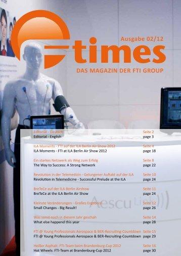 FTI-Team beim Brandenburg-Cup 2012 - FTI Group