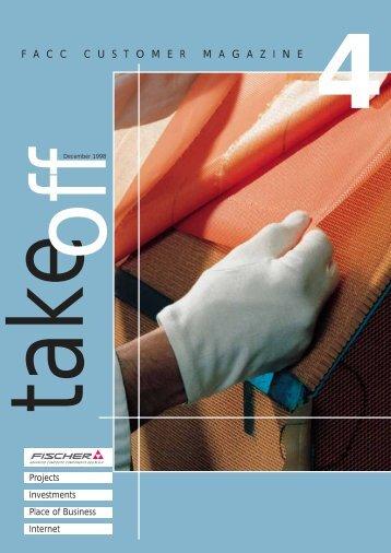 "Magazin ""take off"" - Issue 4 - FACC"