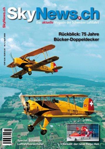 Rückblick: 75 Jahre Bücker-Doppeldecker - SkyNews.ch