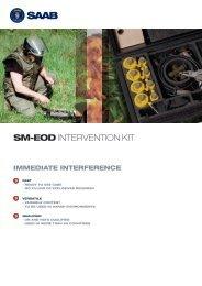 SM-EOD Intervention Kit product sheet - Saab
