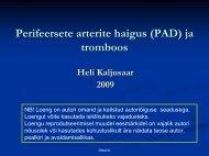Perifeersete arterite haigus (PAD)