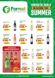 Forrest - Summer Alcohol Deals