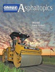 ASPHALTopics | Fall 2005 | VOL 18 | NO 3