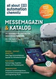 Messemagazin & Katalog | all about automation chemnitz