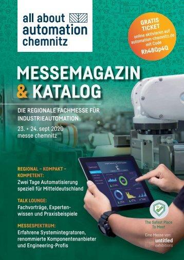 Messemagazin & Katalog | all about automation chemnitz