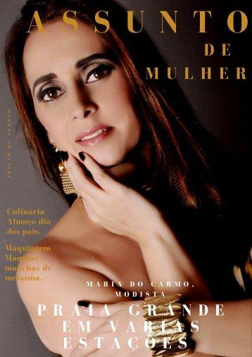 Revista eletrônica, Assunto de Mulher, edição de agosto.