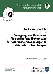 Erzeugung von Bioethanol Erzeugung von Bioethanol für den Kraf ...