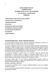 1 scuola media statale - SMS Giuseppe Piazzi