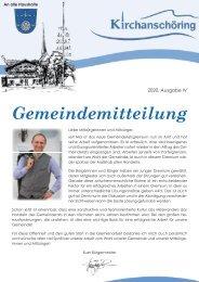 Gemeindemitteilung Kirchanschöring 2020-4